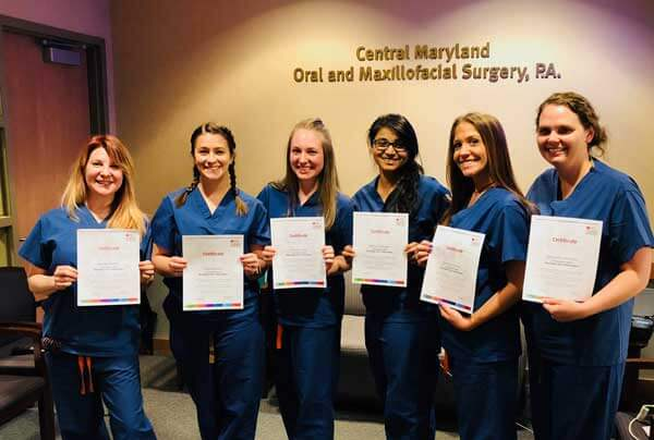 Central Maryland OMS staff