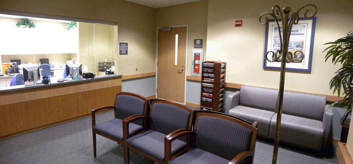 Central Maryland OMS lobby photo